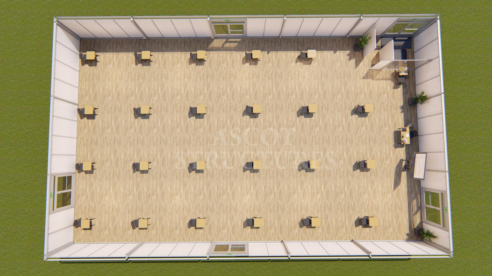 classroom layout for 2m